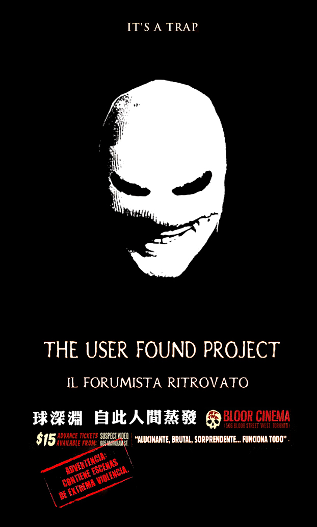 THE USER FOUND PROJECT. Il Forumista Ritrovato. Starring PANZER ... 25394cc30ced